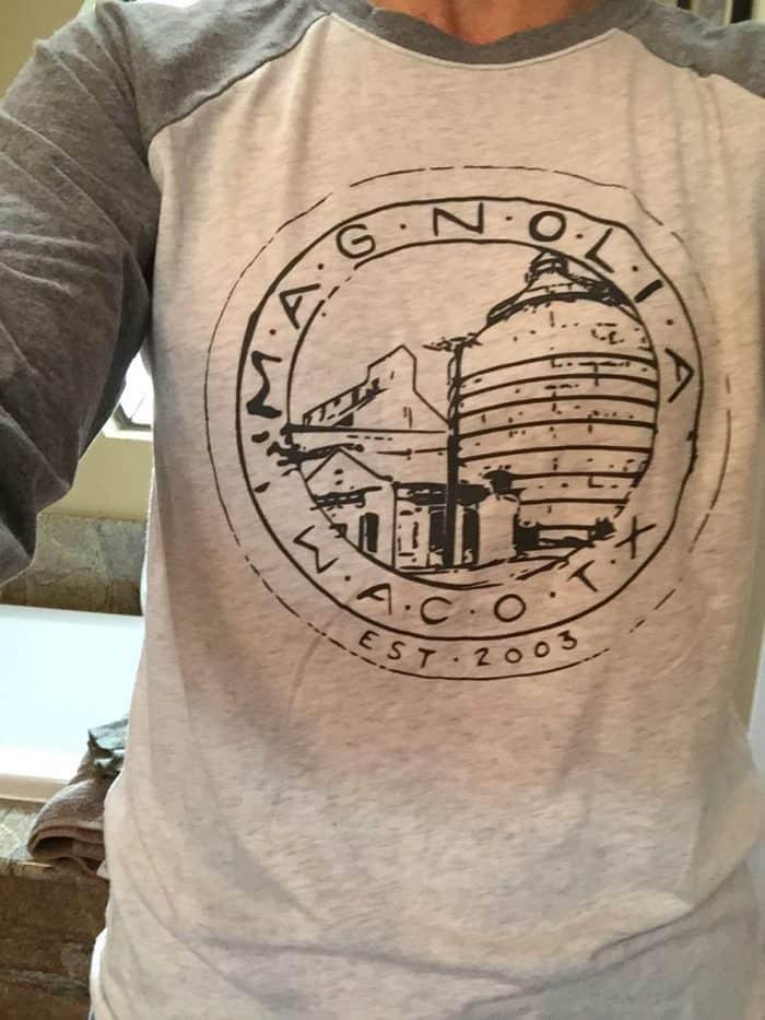 Magnolia baseball t-shirt