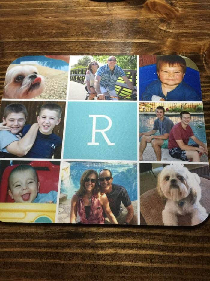 Shutterfly mouse pad