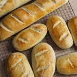 Chewy French Bread -- a chewy and versatile bread, great for dipping in soup, as a sandwich, or just eating with a pat of butter! | suebeehomemaker.com