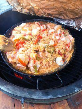 Shrimp and Scallops Paella