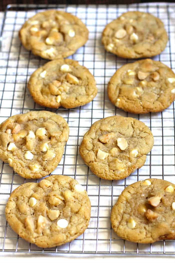 how to make white macadamia nut cookies from scratch