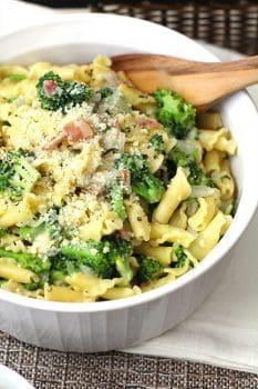 Broccoli Pasta with Bacon