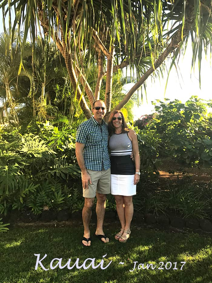 Our vacation in Kauai was the first part of our Hawaiian getaway to celebrate our 50th birthdays. We had an amazing time exploring the island! | suebeehomemaker.com