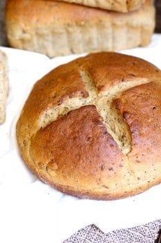 Seeded Oatmeal Wheat Bread