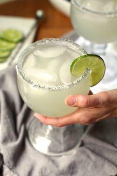 Classic Skinny Margaritas