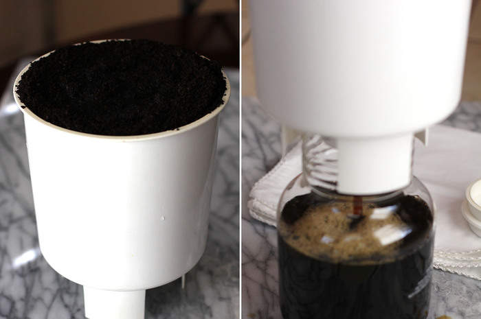 Cold Brew Coffee uses a patented cold brew system - Toddy Cold Brew System - using regular coffee beans to create a super smooth coffee! | suebeehomemaker.com