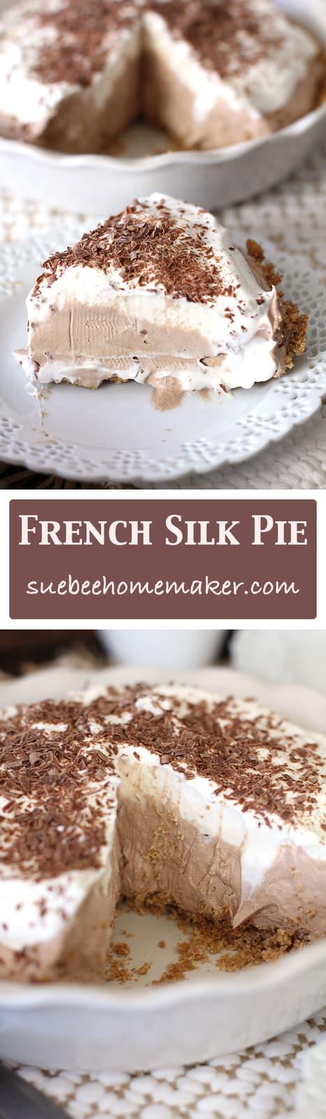 French Silk Pie - SueBee Homemaker