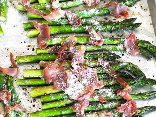 recipe: asparagus prosciutto parmesan [27]
