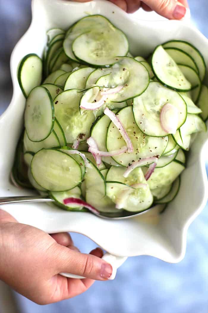 Cucumber Salad Recipe White Vinegar