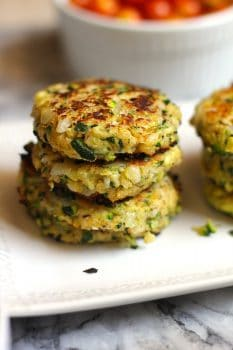 Grilled Italian Zucchini Fritters