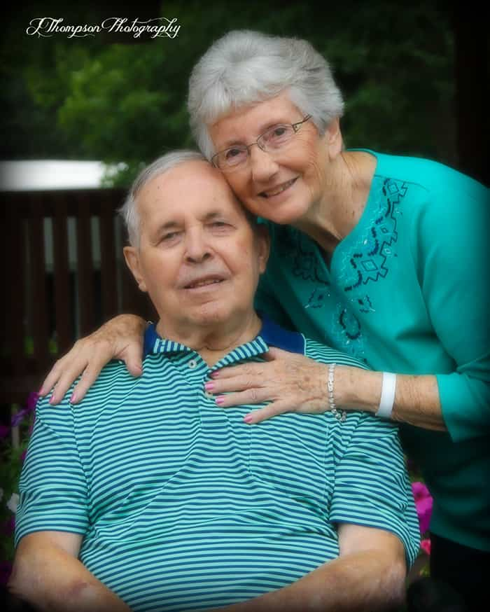 We celebrated Mom and Dad's 60th wedding anniversary and Mom's 80th birthday recently. Our entire family gathered in Iowa to honor them. | suebeehomemaker.com