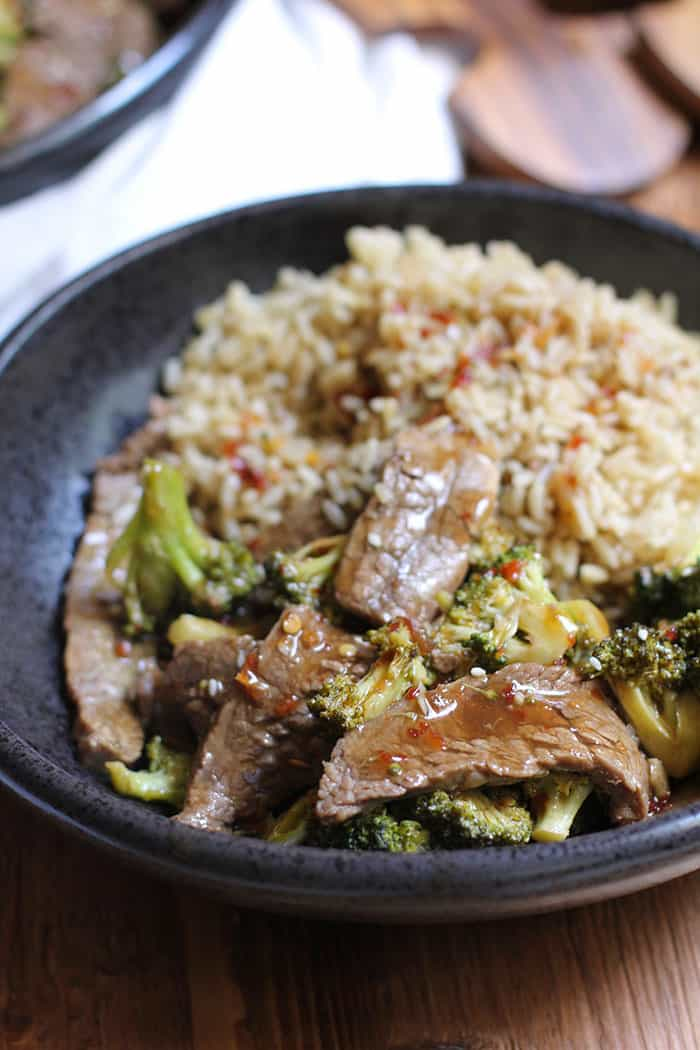 Ditch the take-out, and try this easy Beef and Broccoli Stir Fry instead. It's healthier, cheaper, and you'll know exactly what goes into your body! | suebeehomemaker.com