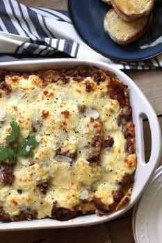 Meat Lover's Lasagna