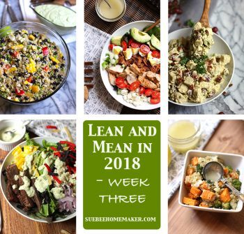 Lean and Mean in 2018 – Week Three