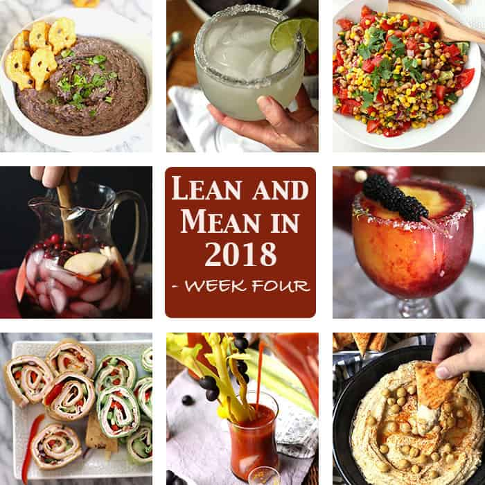 Lean and Mean in 2018 - it's all about balance. My eight party recipes will give you a great jump-start to your clean eating in 2018! | suebeehomemaker.com
