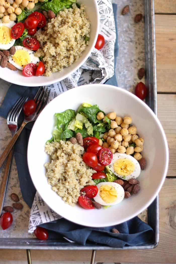 Protein Packed Quinoa Salad Suebee Homemaker