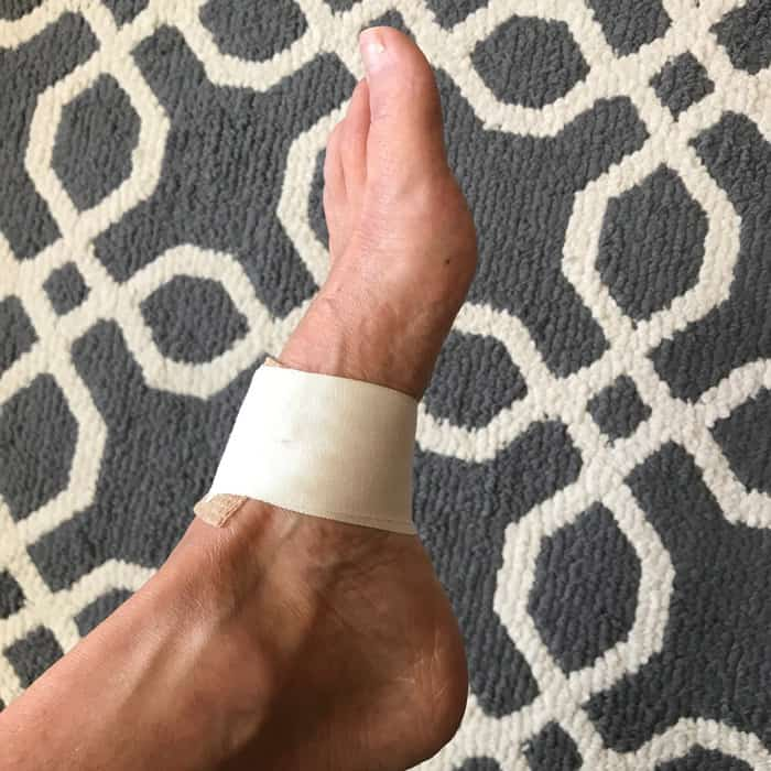 My foot continues to give me grief, as I struggle to heal from plantar fasciitis.