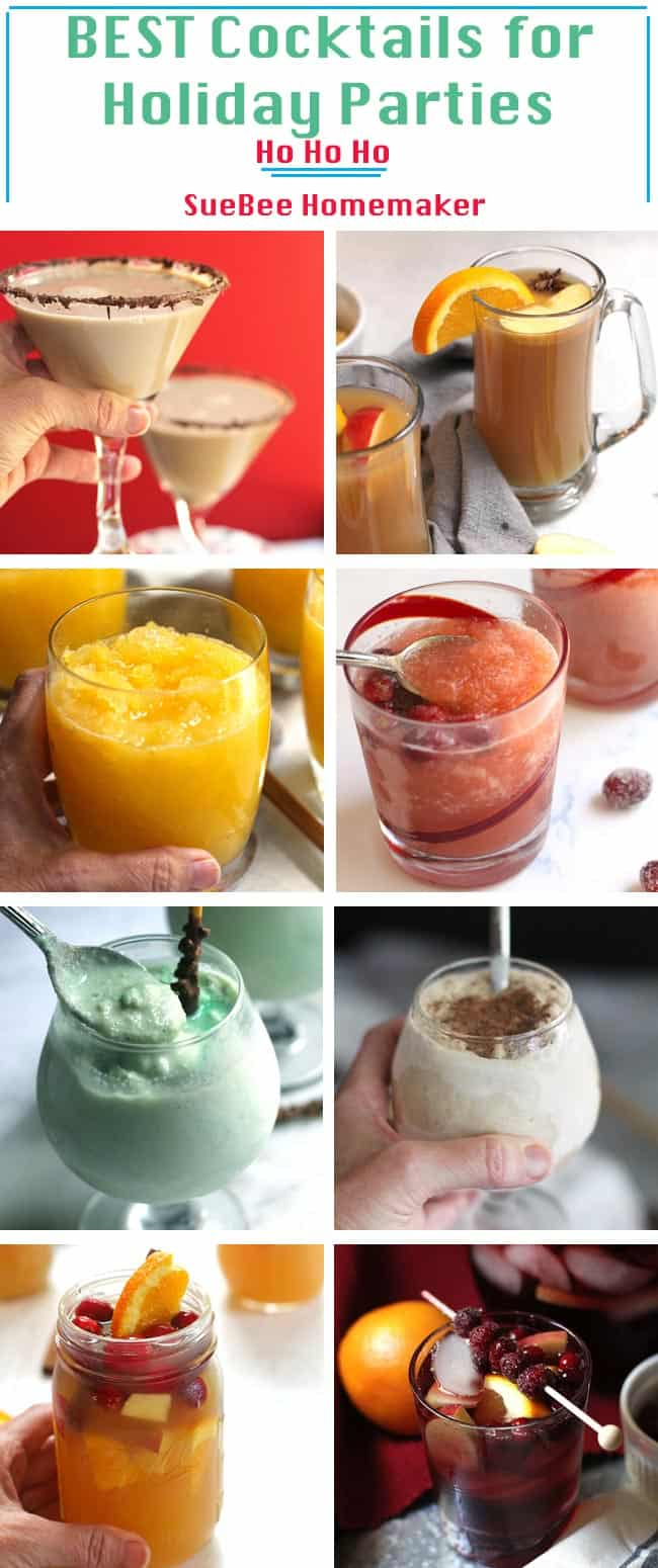 Best Holiday Party Cocktails