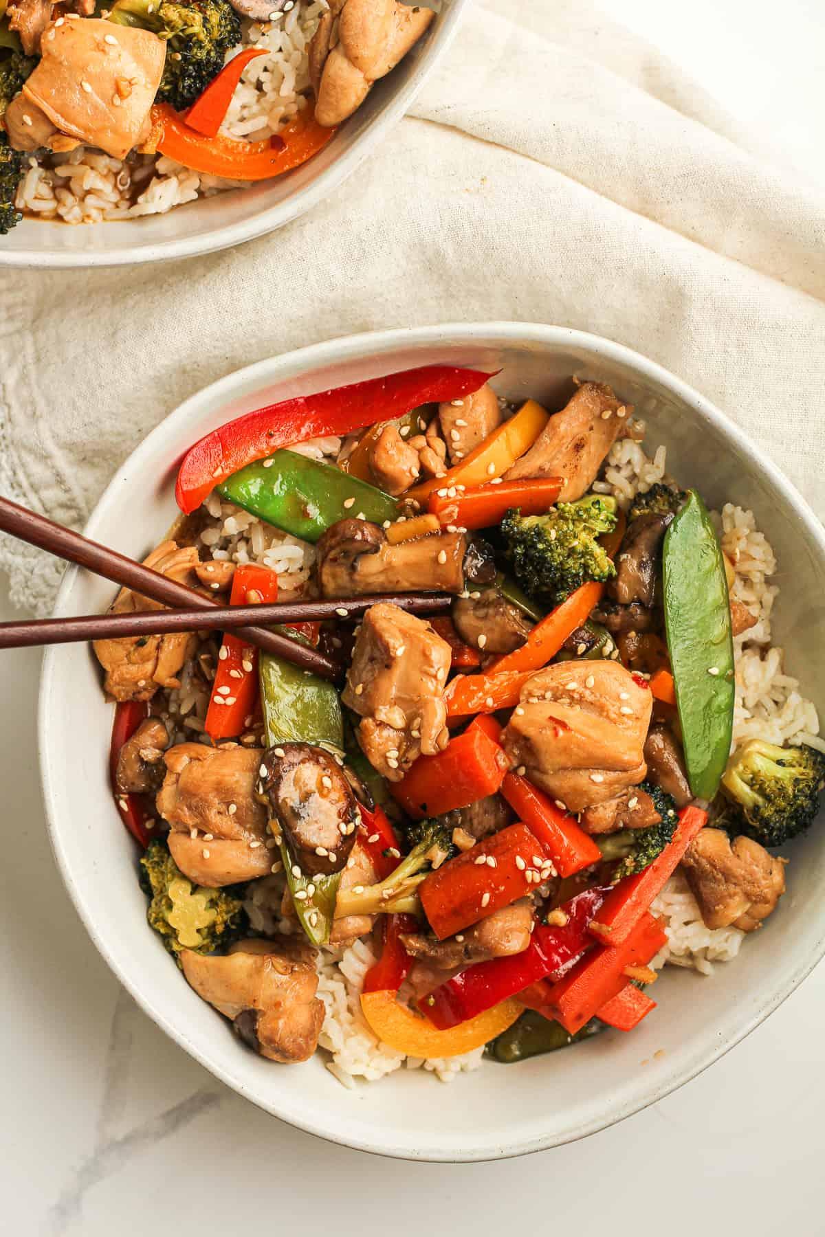 Chicken Vegetable Stir Fry Recipe