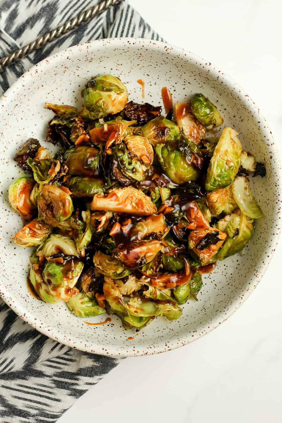 Teriyaki Brussels Sprouts
